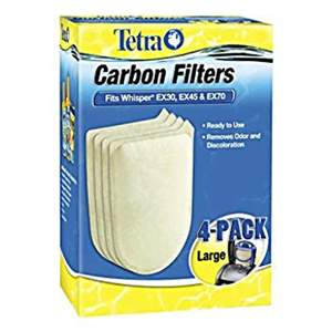 Tetra Whisper Ex30, Ex45 e Ex70 Carbon Filter - Large (unidade)