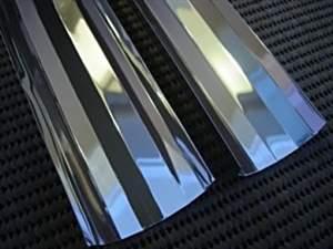 Calha reflexiva p/ lâmpada T5/T8 45cm